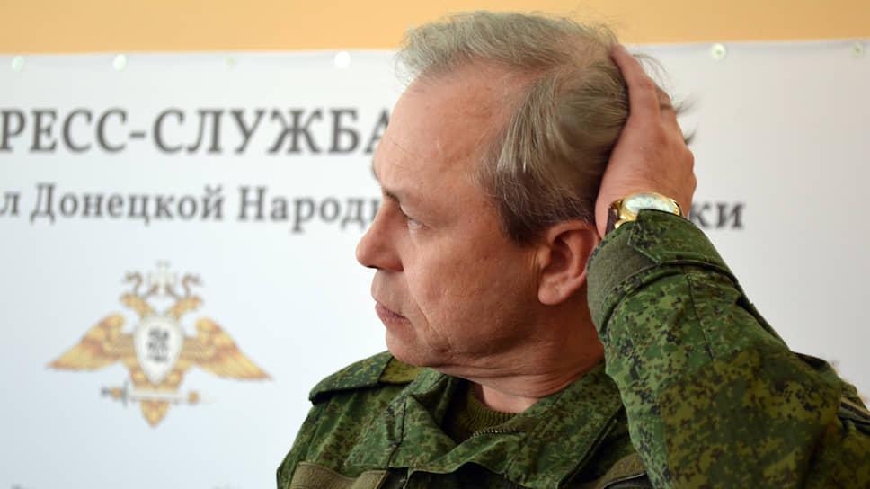 Замначальника управления народной милиции ДНР Эдуард Басурин