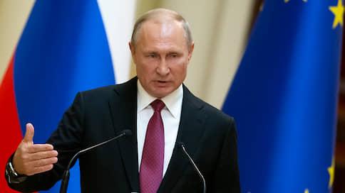 Путин обвинил оппозиционных кандидатов в Мосгордуму в фальсификации подписей