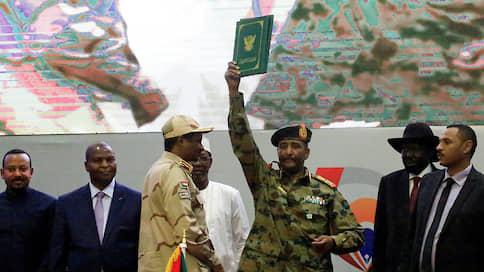 Абдель Фаттах аль-Бурхан принес присягу руководителя Суверенного совета Судана