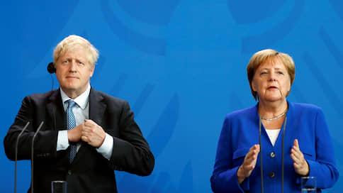 Меркель и Джонсон выступили против возвращения России в G7