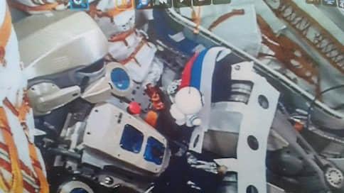 Россия запустила человекоподобного робота в космос