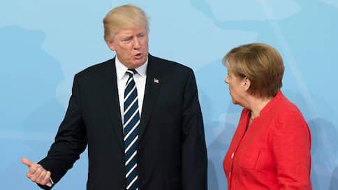 Трамп обсудит с Меркель зависимость Германии от российского газа