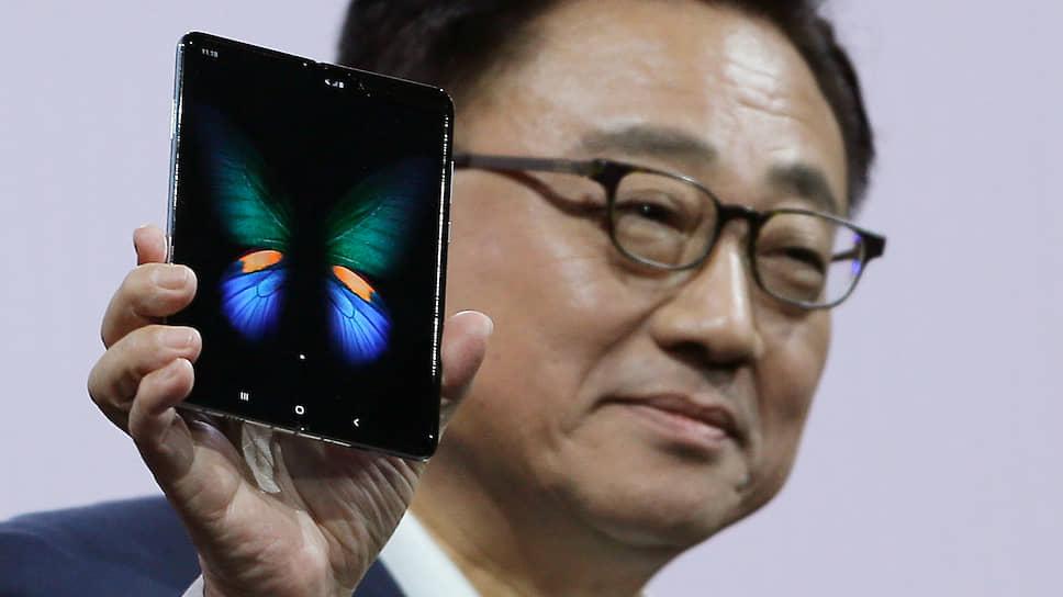 Президент и главный исполнительный директор Samsung Донг Джин Ко