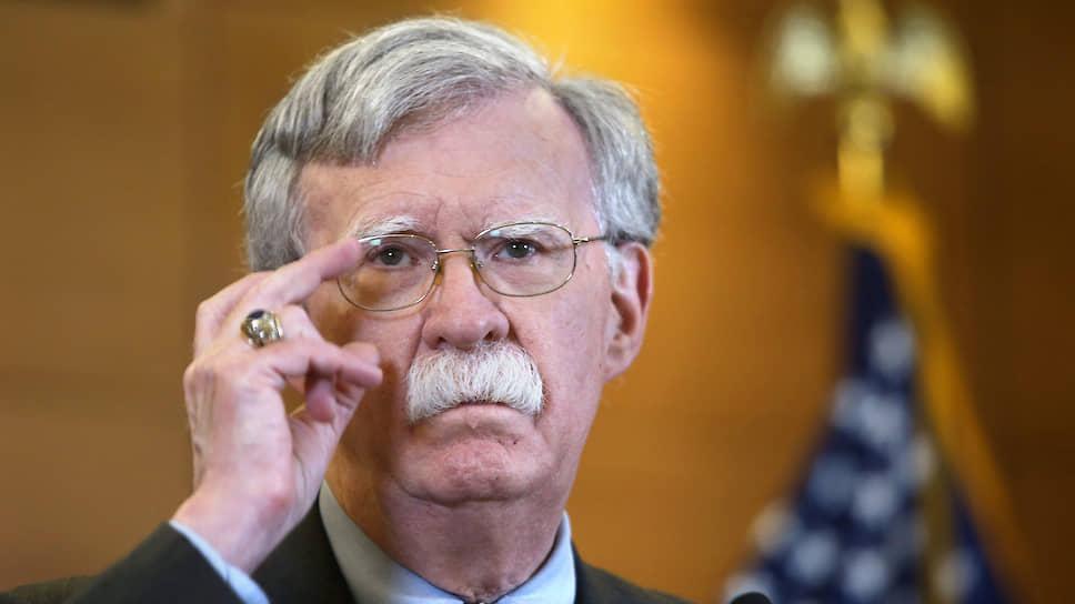Бывший советник президента США по вопросам национальной безопасности Джон Болтон
