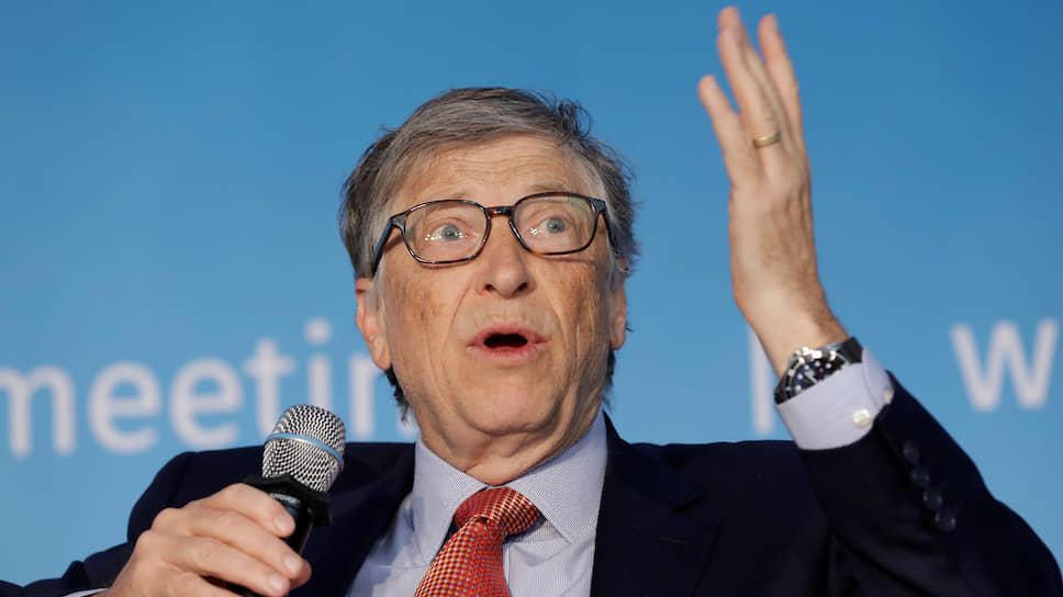 Основатель Microsoft и филантроп Билл Гейтс