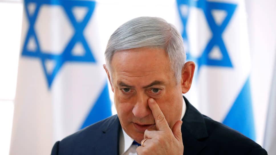 Лидер партии «Ликуд» Биньямин Нетаньяху