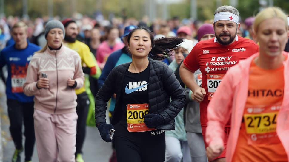 Участники VII Московского марафона