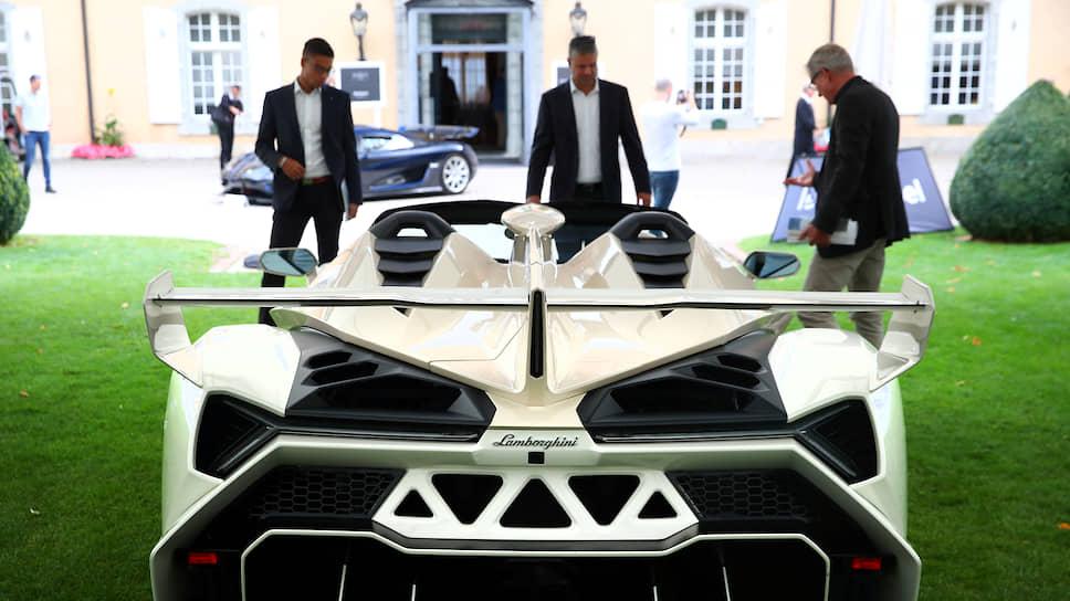 Lamborghini Veneno Roadster 2014 года из коллекции сына президента Экваториальной Гвинеи