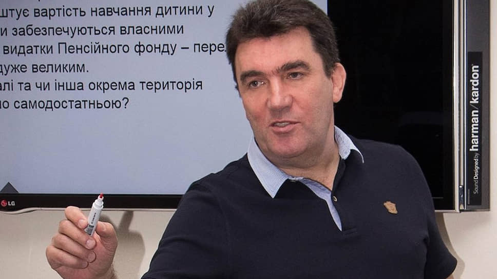 Секретарь Совета национальной безопасности и обороны Алексей Данилов