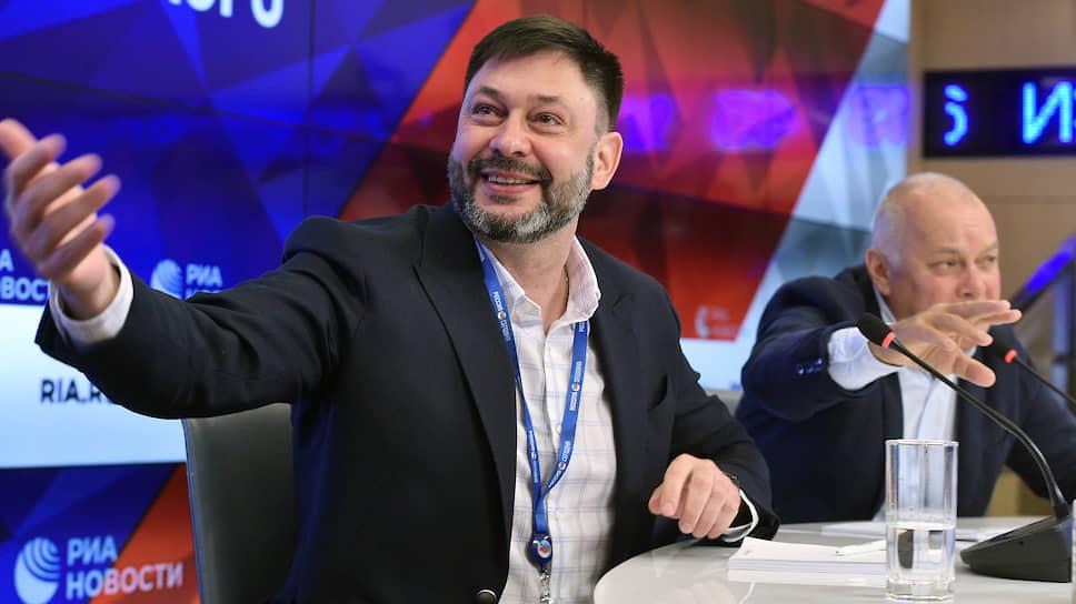 Исполнительный директор МИА «Россия Сегодня» Кирилл Вышинский