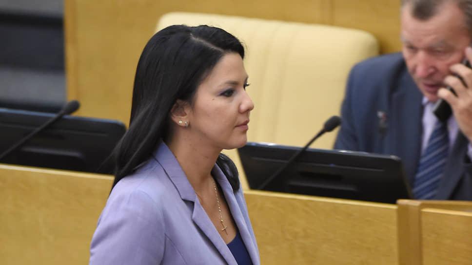 Депутат Госдумы Инга Юмашева
