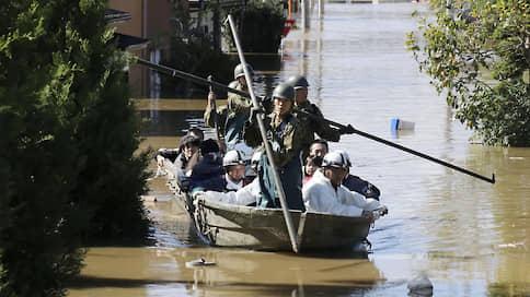 Число жертв тайфуна «Хагибис» в Японии увеличилось до десяти