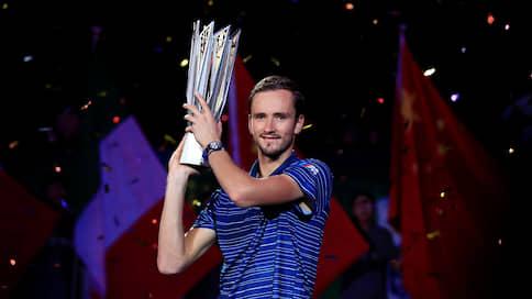 Даниил Медведев выиграл турнир в Шанхае
