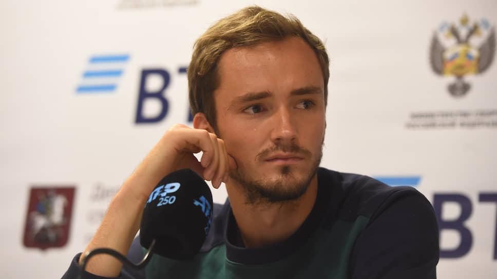 Теннисист Даниил Медведев