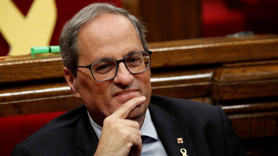 Глава каталонского Женералитета Ким Торра