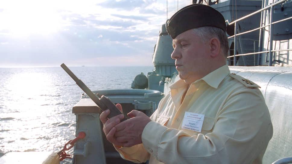 Вице-адмирал Михаил Моцак
