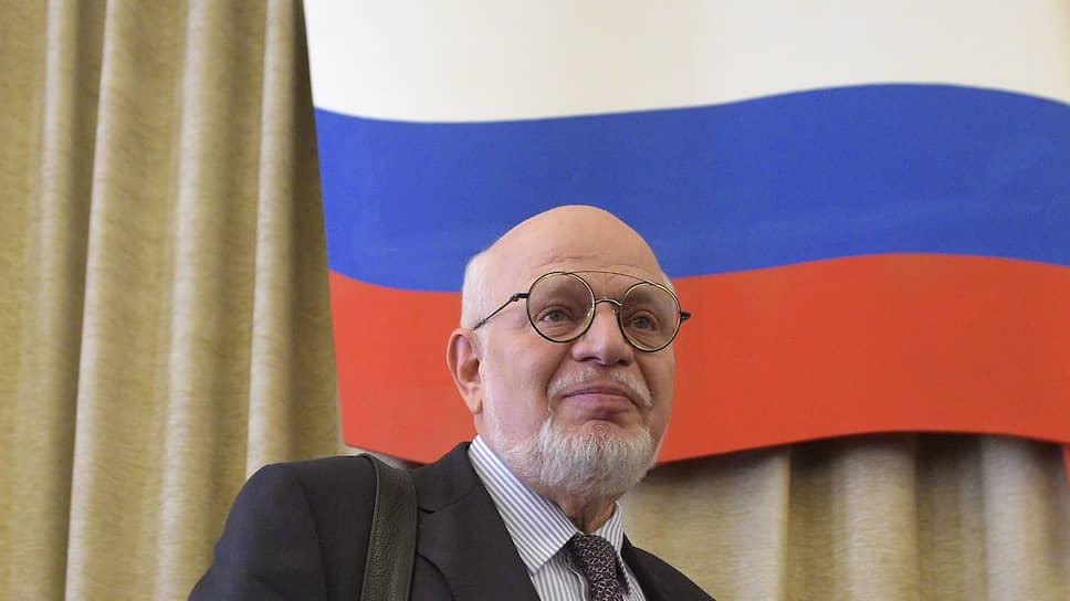 Бывший глава Совета при президенте по правам человека Михаил Федотов