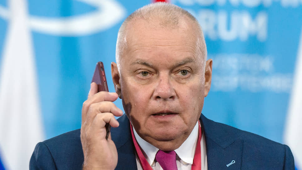 Генеральный директор информагентства «Россия сегодня» Дмитрий Киселев