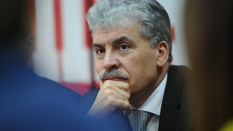 Директор ЗАО «Совхоз имени Ленина» Павел Грудинин