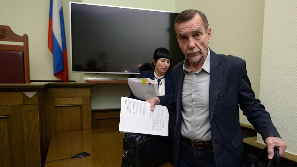 """Лидер движения """"За права человека"""" Лев Пономарев"""