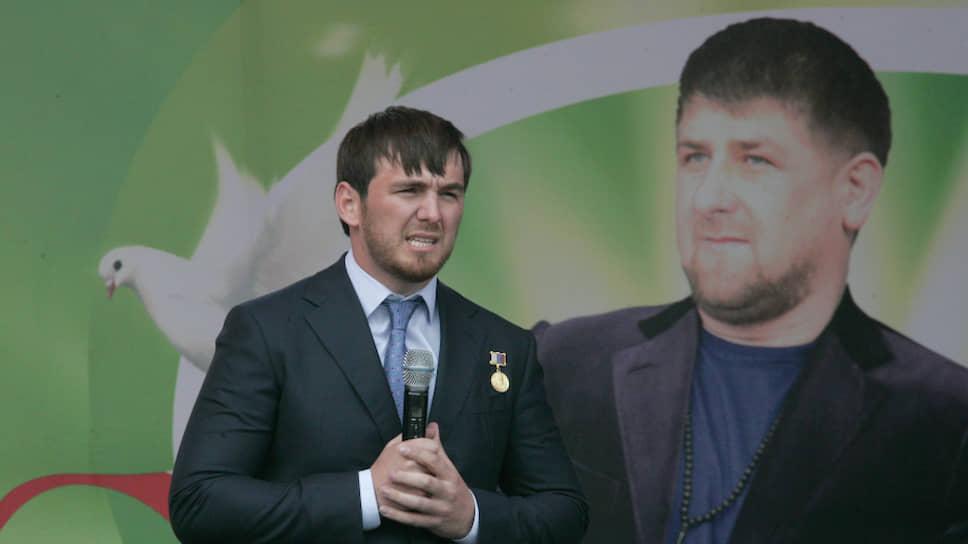 Бывший мэр Грозного Ислам Кадыров