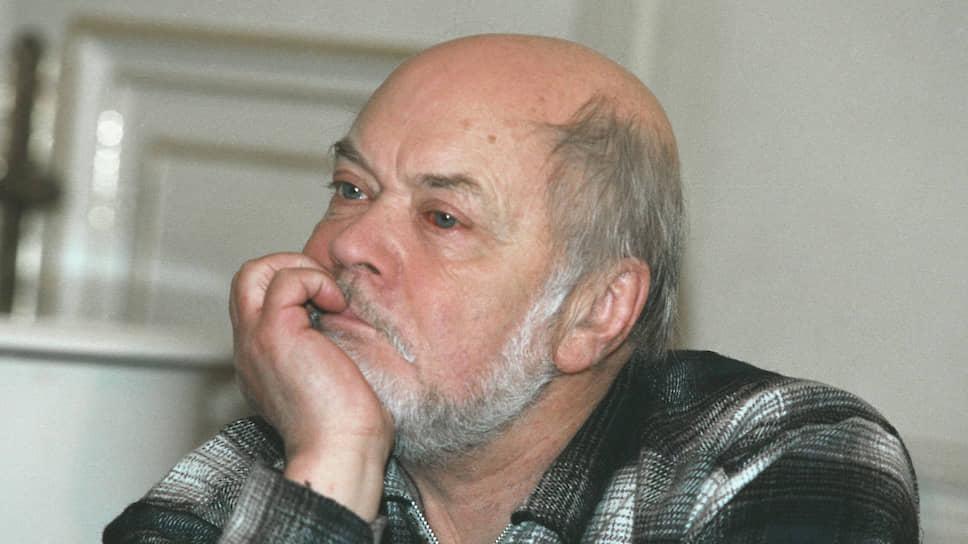 Литературный критик и публицист Лев Аннинский