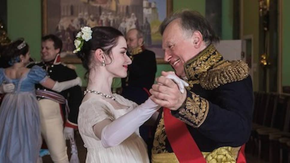 Доцент СПбГУ Олег Соколов с Анастасией Ещенко