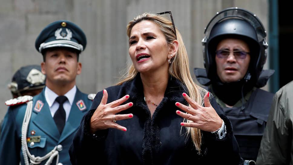 И. о. президента Боливии Жанин Аньес