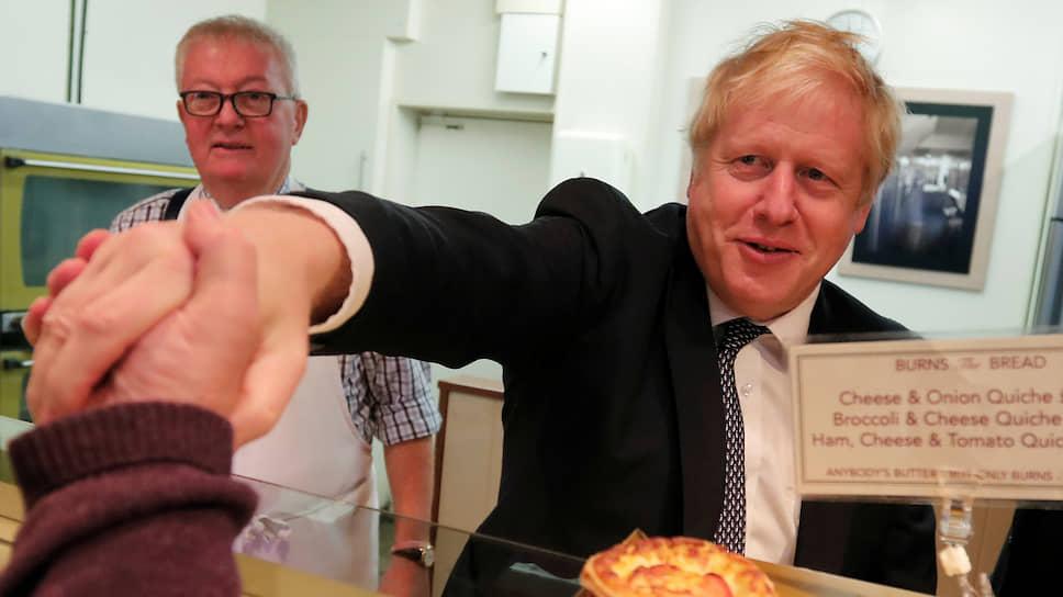 Джонсон заявил об отсутствии доказательств вмешательства РФ в британскую политику