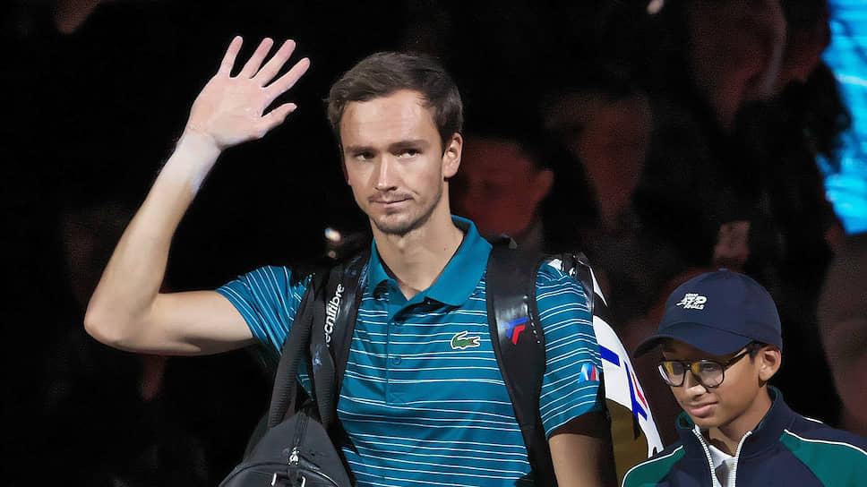 Российский теннисист Даниил Медведев