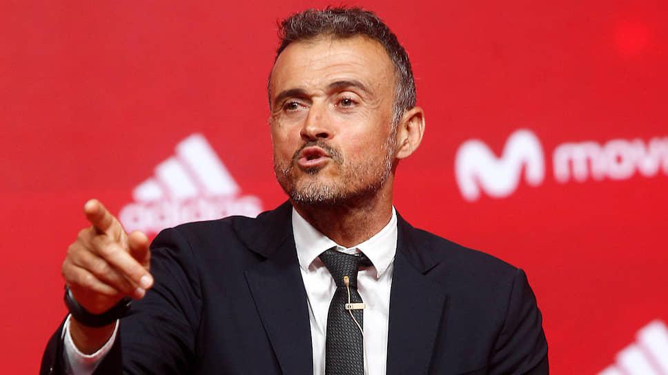 Главный тренер сборной Испании по футболу Луис Энрике