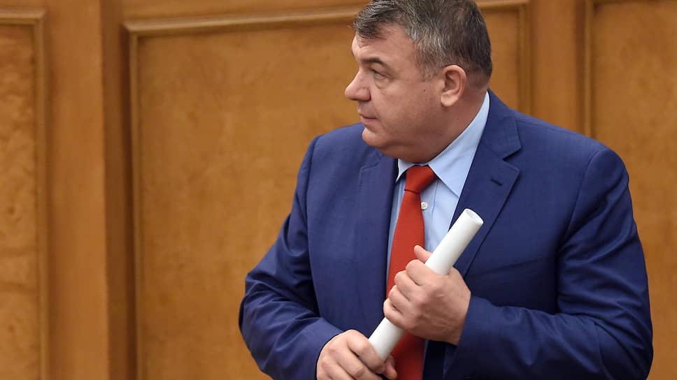Индустриальный директор по авиационному кластеру государственной корпорации «Ростех» Анатолий Сердюков