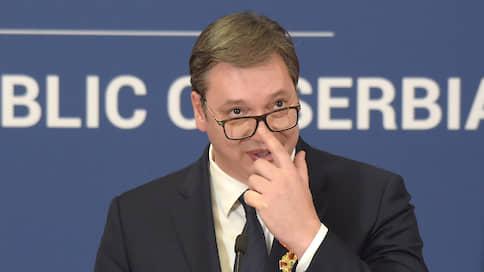 Вучич прокомментировал скандал с российским разведчиком в Сербии
