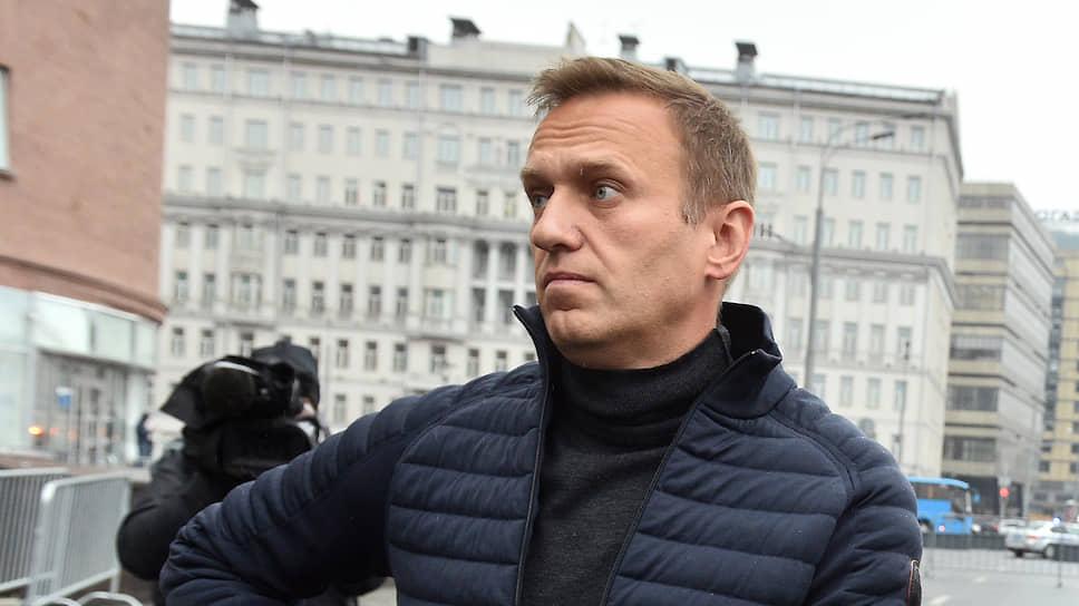 Основатель Фонда борьбы с коррупцией Алексей Навальный