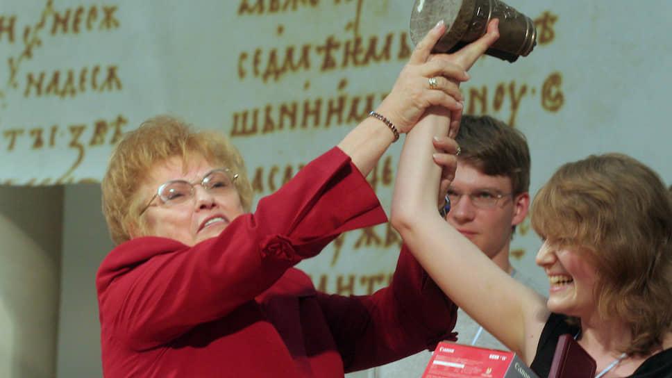 Бывший ректор и президент СПбГУ Людмила Вербицкая