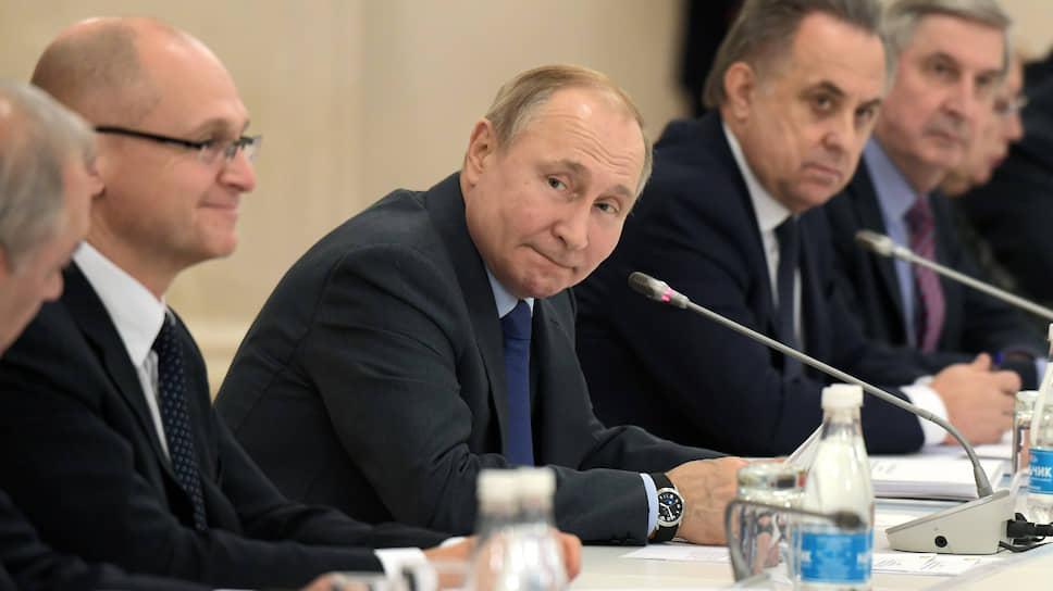 Президент России Владимир Путин в Нальчике
