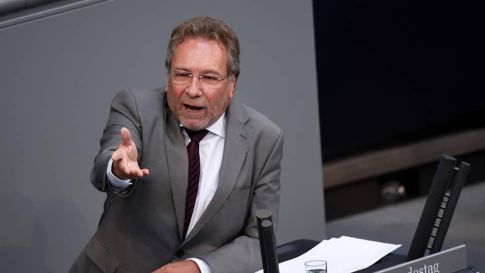 Глава комитета Бундестага по экономике и энергетике Клаус Эрнст