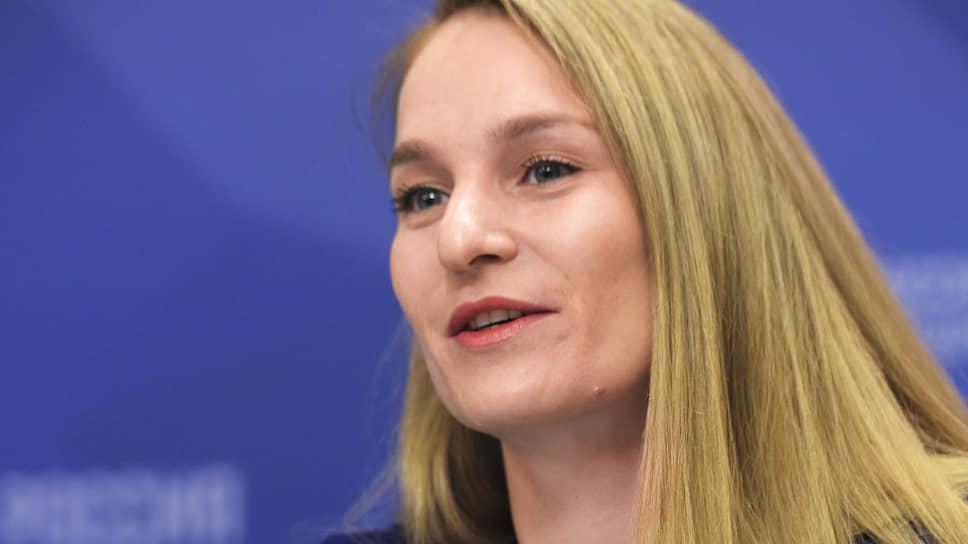 Олимпийская чемпионка по фехтованию Софья Великая