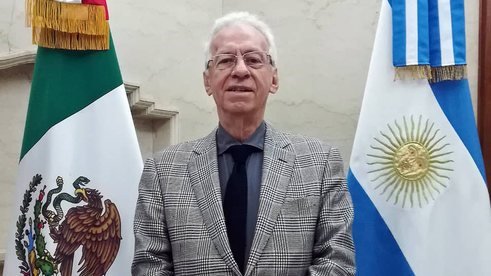 Посол Мексики в Аргентине Оскар Рикардо Валеро Ресио Бесерру