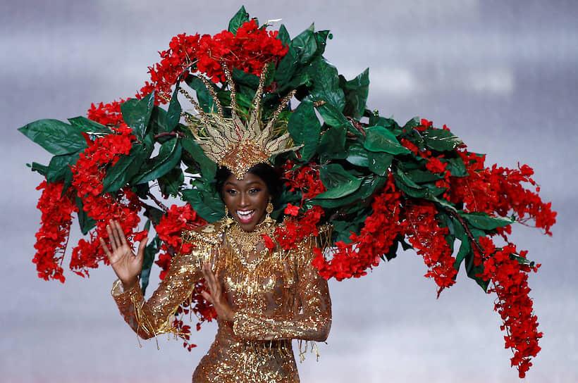 Участница конкурса из Тринидада и Тобаго