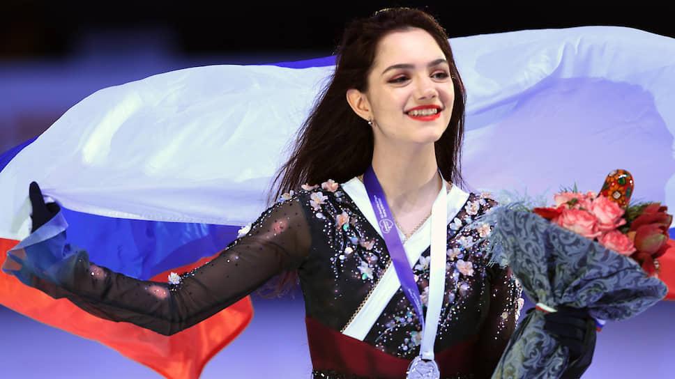 Российская фигуристка Евгения Медведева