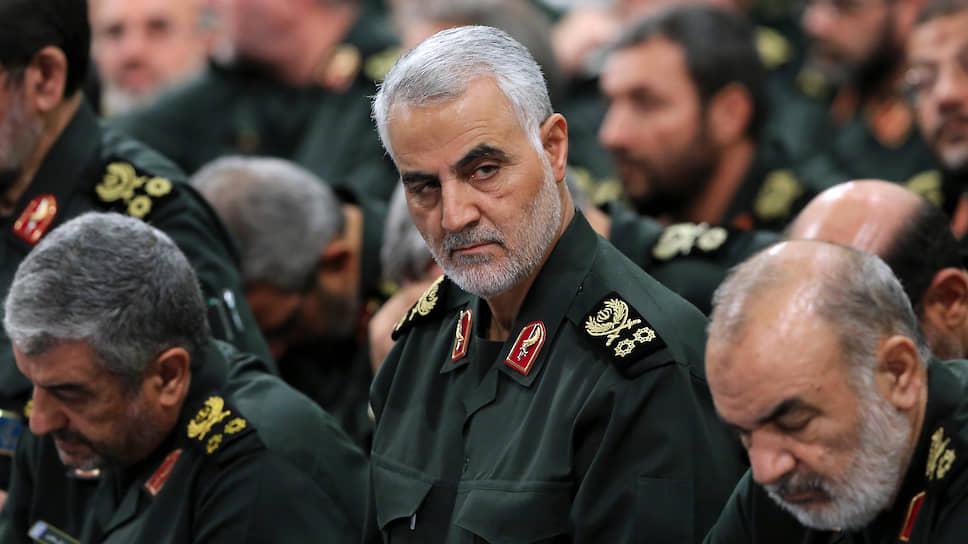 Глава спецподразделения «Аль-Кудс» Корпуса стражей исламской революции генерал Касем Сулеймани