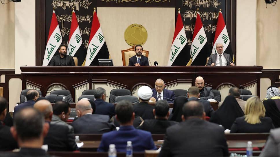 Экстренное заседание парламента Ирака 5 января