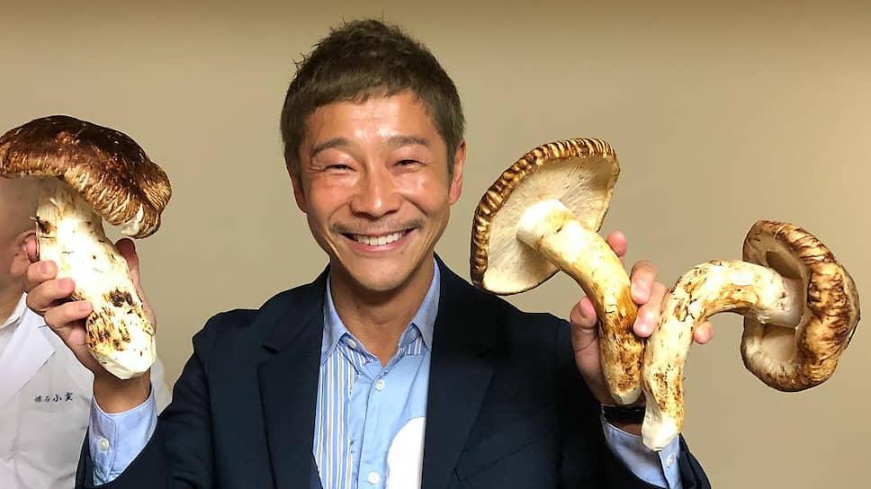 Предприниматель Юсаку Маэдзава