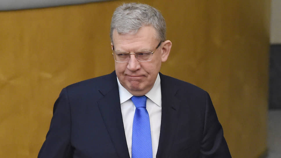 Председатель Счетной палаты России Алексей Кудрин