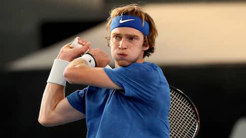 Теннисист Рублев выиграл второй турнир ATP подряд