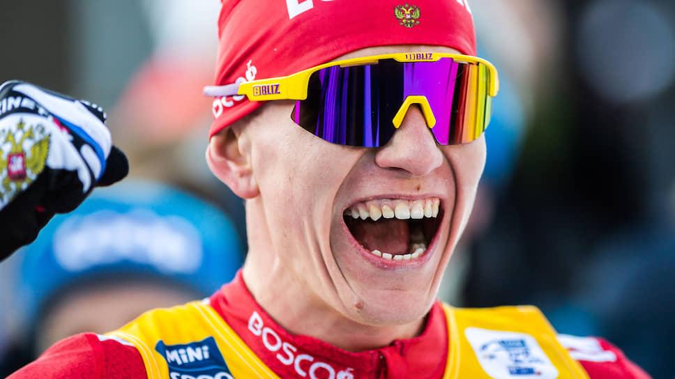 Лыжник Александр Бльшунов