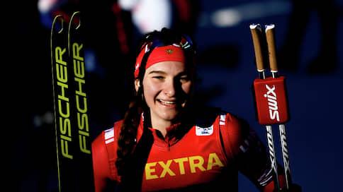 Лыжница Непряева заняла второе место в гонке на 10 км на этапе КМ в Чехии