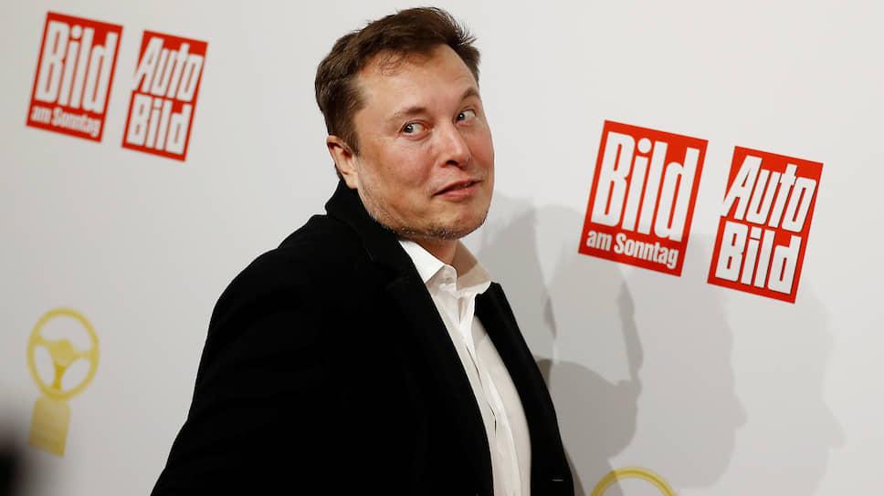 Основатель SpaceX Илон Маск