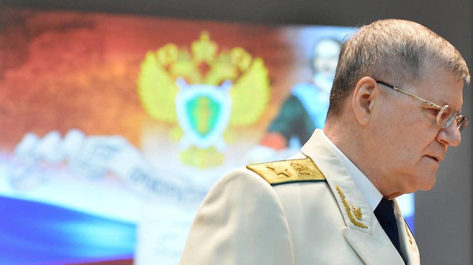 Бывший генпрокурор Юрий Чайка